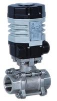 Кран шаровой полнопроходной разборный муфтовый с электроприводом ГЗ 220В VANTA 44-014-901