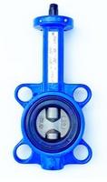 Затвор дисковый поворотный межфланцевый с голым штоком VANTA 12-009