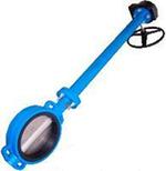 Затвор дисковый поворотный межфланцевый с удлиненным штоком VANTA 12-904