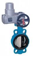 Затвор дисковый поворотный межфланцевый с электроприводом AUMA VANTA 12-004-914