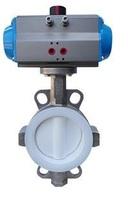 Затвор дисковый поворотный межфланцевый с пневмоприводом двойного действия VANTA 12-026-61