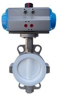 Затвор дисковый поворотный межфланцевый с пневмоприводом с возвратной пружиной VANTA 12-026-62
