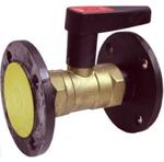 Клапан балансировочный латунный фланцевый Ballorex DRV