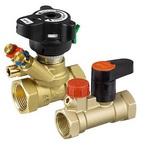 Комплект балансировочного клапана MVT и запорного клапана MSV-S