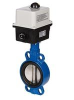 Затвор дисковый Danfoss VFY-WA с электроприводом 220В CI/PA/EPDM