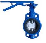 Затвор дисковый поворотный межфланцевый VANTA 12-002