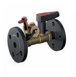Клапан балансировочный латунный фланцевый Ballorex FODRV