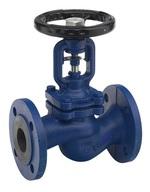 Клапан запорный проходной стальной фланцевый VANTA 15-014