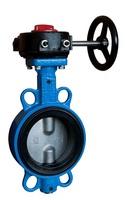 Затвор дисковый поворотный межфланцевый с редуктором VANTA 12-003