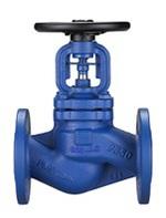 Клапан запорный сильфонный стальной фланцевый тип: 1524