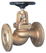 Клапан невозвратно-запорный проходной бронзовый фланцевый VANTA 15-019