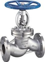 Клапан запорный из нержавеющей стали фланцевый тип: 15нж65нж