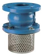 Клапан обратный чугунный фланцевый с приемной сеткой VANTA 82-011