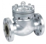 Клапан обратный поворотный стальной фланцевый тип: 19С76НЖ