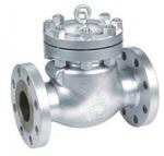 Клапан обратный поворотный стальной фланцевый тип: 19С53НЖ