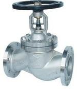 Клапан запорный сильфонный фланцевый из нержавеющей стали VANTA 15-057