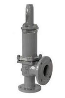 Клапан предохранительный пружинный фланцевый тип: 17ЛС15НЖ, 17ЛС85НЖ