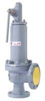 Клапан предохранительный пружинный фланцевый с рукояткой для принудительного открытия тип: 17ЛС16НЖ, 17ЛС89НЖ