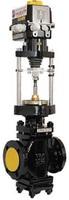 Клапан регулирующий двухседельный чугунный фланцевый с ЭИМ тип: 25Ч940НЖ
