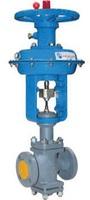 Клапан регулирующий двухседельный стальной фланцевый нормально открытый с МИМ тип: 25С48НЖ
