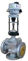 Клапан регулирующий трехходовой смесительный фланцевый с ЭИМ тип: 27С947НЖ