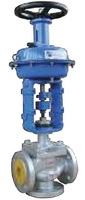 Клапан регулирующий трехходовой смесительный фланцевый с МИМ тип: 27С647НЖ