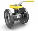 Кран шаровой регулирующий стандартнопроходной стальной фланцевый LD REGULA
