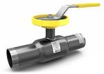Кран шаровой регулирующий стандартнопроходной стальной под приварку LD REGULA