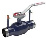 Кран шаровой регулирующий стандартнопроходной стальной под приварку Naval V