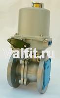 Кран шаровой полнопроходной разборный фланцевый с электроприводом ГЗ 220В VANTA 44-016-901