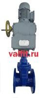 Задвижка фланцевая чугунная с электроприводом Тула 380В VANTA 24-006-918