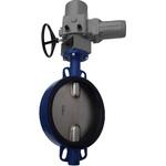 Затвор дисковый поворотный межфланцевый с однооборотным электроприводом ГЗ 380В тип: 3211-905
