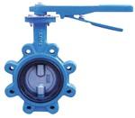 Затвор дисковый поворотный с резьбовыми проушинами (LUG) VANTA 12-077